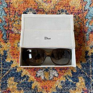 Brown Dior Sunglasses